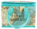 Vintage Map Lunch Bag