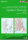 Denmark and Copenhagen Cycling Map