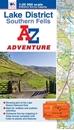 Lake District - Southern Fells A-Z Adventure Atlas