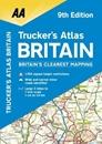 Britain AA Trucker's Atlas A3 SPIRAL-BOUND