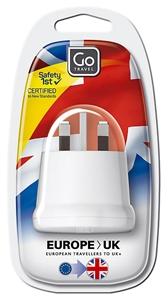 Euro - UK Travel Adaptor