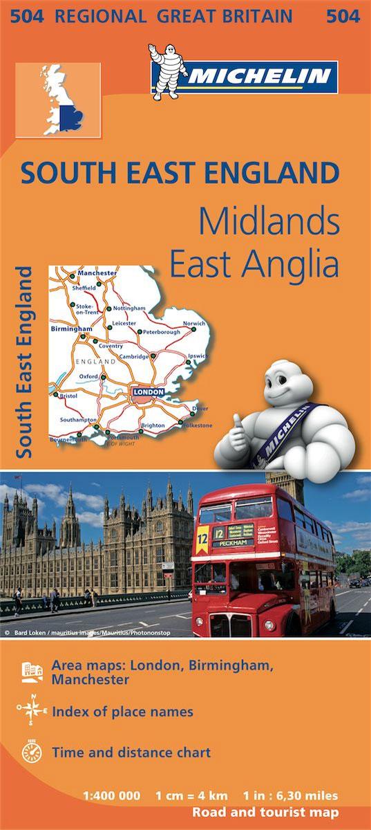 Great Britain: Michelin 400K Road Maps