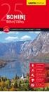 Bohinj Kartografija WATERPROOF Hiking Map