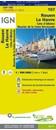 Rouen - Le Havre - Cote d'Albatre - Boucles de la Seine Normande IGN TOP100 107