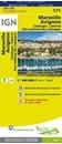 Marseille - Avignon - Camargue - Luberon - PN des Calanques IGN TOP100 171