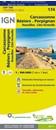 Carcassonne - Beziers - Perpignan - Roussillon - Cote Vermeille IGN TOP100 174