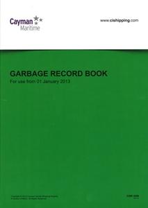 Garbage Record Book