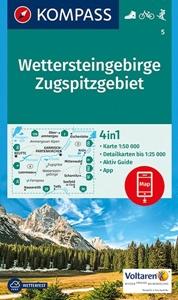 Wettersteingebirge - Zugspitze Kompass 5