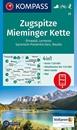 Zugspitze - Mieminger Kette - Erhwald - Lermoos - Garmisch-Partenkirchen - Reutte Kompass 25