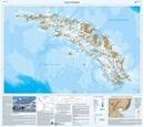South Georgia - the Shackleton Crossing BAS Wall Map