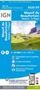 Massif du Beaufortain - Moutiers - La Plagne IGN 3532OT