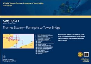 ADMIRALTY Leisure Folio SC5606 - Thames Estuary, Ramsgate to Tower Bridge