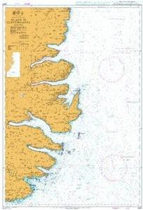 Admiralty Chart 2937 - Hlada to Glettinganes