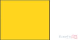 Quarantine flag - 18 x 12 inch - sewn