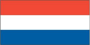 Netherlands flag - 1 yard - sewn