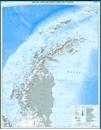 Antarctic Peninsula and Weddell Sea - Graham Land and South Shetland Islands BAS Wall Map