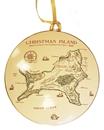 Christmas Island Map Bauble