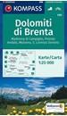 Dolomiti di Brenta - Madonna di Campiglio - Pinzolo - Andalo Kompass 688