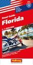 Florida USA 11 Hallwag Road Map