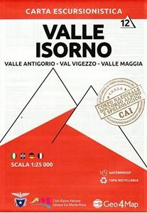 Valle Isorno - Valle Antigorgio - Val Vigezzo - Valle Maggia Geo4Map 12