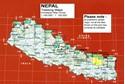 Kanchenjunga Region Great Himalaya Trail Map