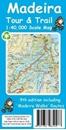 Madeira Tour & Trail Paper Map