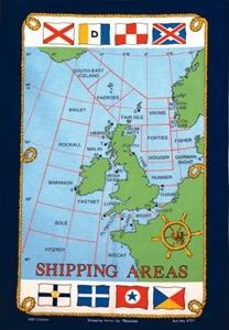 Tea Towel Galley Cloth Shipping Areas