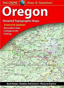 Oregon Recreational Atlas & Gazetteer