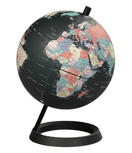 "Globe 8"" Classic Black Ocean"