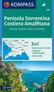 Sorrento Peninsula - Amalfi Coast - Vesuvius - Pompeii - Salerno - Sorrento Kompass 682