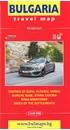 Bulgaria - City Centres Domino Road Map