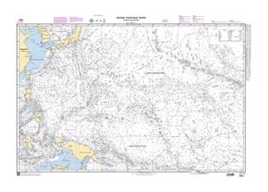 SHOM Chart 7021 - Océan Pacifique Nord - Partie Sud-Ouest