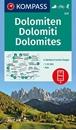 Dolomites 4-Map Set Kompass 672