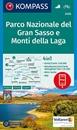 Gran Sasso and Monti della Laga National Park Kompass 2476