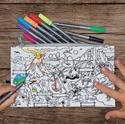 Doodle Dinosaurs Pencil Case