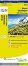 Brest - Quimper - PNR d'Armorique IGN TOP100 113