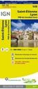 Saint-Etienne - Lyon - PNR du Livradois-Forez IGN TOP100 149