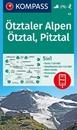 Otztal Alps - Otztal - Pitztal Kompass 43
