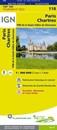 Paris - Chartres - PNR de la Haute Vallée de Chevreuse IGN TOP100 118