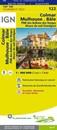 Colmar - Mulhouse - Bale - PNR des Ballons des Vosges Alsace du Sud (Sundgau) IGN TOP100 122