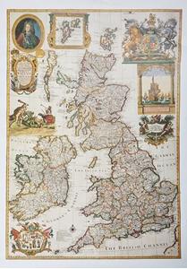 Willdey's British Isles 1715