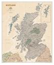 Scotland NGS Executive Wall Map ENCAPSULATED