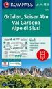 Val Gardena / Groden - Alpe di Siusi / Seiser Alm Kompass 076