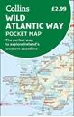 Wild Atlantic Way Collins Pocket Map - The perfect way to explore Ireland's western coastline