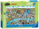 London Landscape 1,000 Piece Jigsaw Puzzle