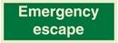 Emergency escape - 10x30cm