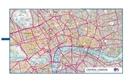 Softfibre OS Map Towel - Central London