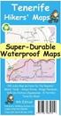 Tenerife Hikers' Super-Durable Map