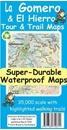 La Gomera & El Hierro Tour & Trail Super-Durable Map
