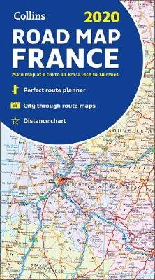 France Collins Road Map 2020 Stanfords